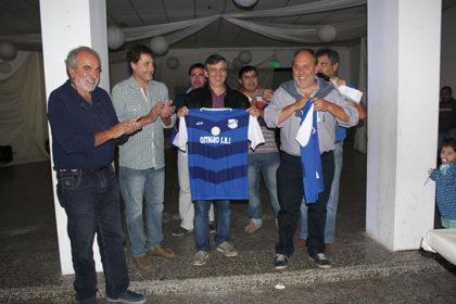 El intendente participó de la cena del Club Social y Deportivo Moquehuá
