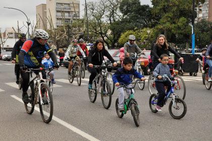 Gran participación tuvo la 2° Bicicleteada de Chivilcoy en Bici