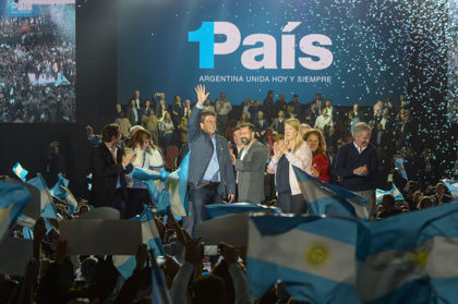 """Massa: """"Queremos que argentina sea de una vez por todas un país de oportunidades, y no dos países como nos quieren vender"""""""