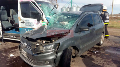 Tres muertos y heridos de diversa consideración en accidente en Ruta 30 a la altura de La Rica