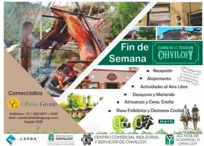 El Camino de la Tradición recibe turistas en Chivilcoy