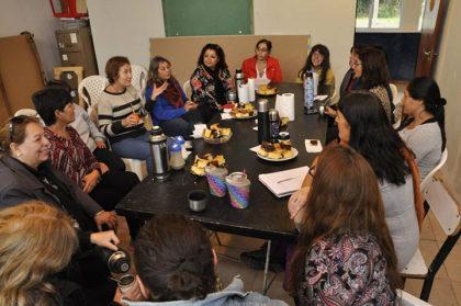 Integrantes del Taller Fusionarte se reunieron con la presidenta del Consejo de Discapacidad