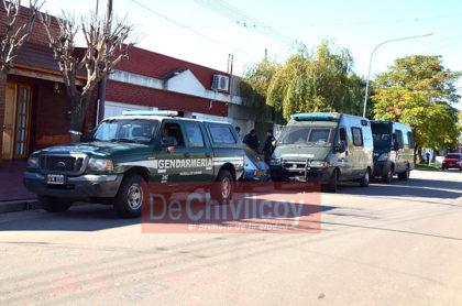 Gendarmería en Chivilcoy: Importante operativo por tráfico de drogas