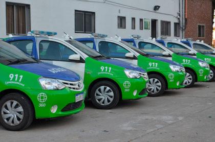 Nuevos móviles que formaran parte de la flota de la Policía Comunal