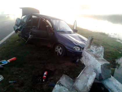 Ruta 5: Se despistó por esquivar un carpincho, una persona fallecida