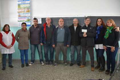 Recorrida por el Centro de Educación Complementaria 802 de la localidad de Moquehuá