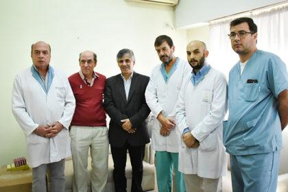 Se realizó la primera cirugía bariátrica en el Hospital Municipal