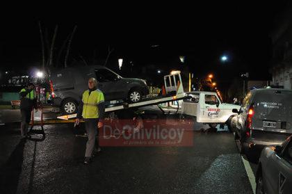La Dirección de Tránsito secuestró un vehículo estacionado en el espacio reservado a motocicletas