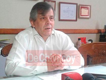 Intendente Britos: Se reunirá con el Ministro De La Torre por importantes obras para Chivilcoy