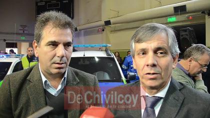 """Ministro Ritondo en Chivilcoy: """"La inseguridad se enfrenta con decisión política"""" [VIDEO]"""