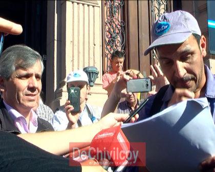 SanCor: Importante movilización de los trabajadores y acompañamiento de la comunidad [VIDEO]