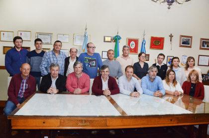 Alianza 1País: El oficialismo local conforma un interbloque con el concejal Oteiza [Video]