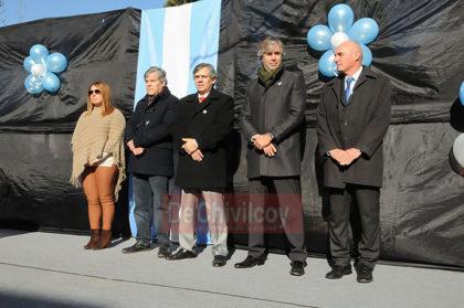 El Intendente Britos tomó promesa de lealtad a la bandera a alumnos de 4to año de Chivilcoy