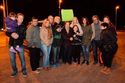 Autoridades municipales recibieron a Esmeralda Riggio tras coronarse Campeona Provincial de Patín