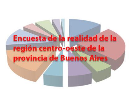 Encuesta de la realidad de la región centro-oeste de la provincia de Buenos Aires