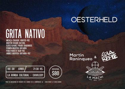 """Este viernes """"FESTIVAL NATIVO"""" en La Ronda"""