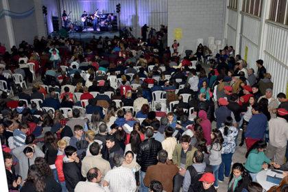 Multitudinario festival folclórico en Moquehuá