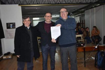 Manetti brindó una charla sobre Gestión Cultural en la Universidad Pública