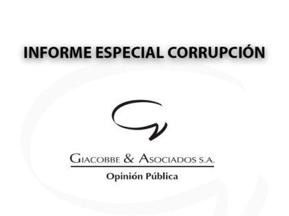 Informe especial corrupción: Encuesta de Giacobbe & Asociados SA
