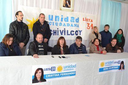 Unidad Ciudadana: La lista encabezada por Nora Salbitano presentará su propuesta este viernes