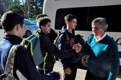 Britos recibió a los equipos de Handball participantes de la etapa regional de los Torneos Bonaerenses