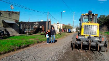 Comenzaron a realizarse las mejoras en caminos a escuelas suburbanas