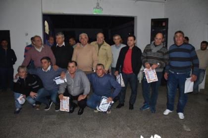 El intendente participó de los festejos por el 89° aniversario del club de Moquehuá