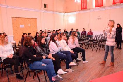La Dirección de Tránsito comenzó una serie de charlas para alumnos de Secundaria