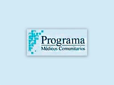 Publicación pedida: Programa Médicos Comunitarios de Chivilcoy