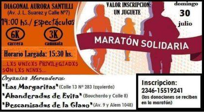 """La Secretaría de Seguridad se suma a la campaña de la """"Maratón Solidaria"""""""