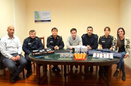 Nuevo equipamiento y materiales para las dependencias de la Secretaría de Seguridad