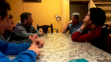 """José Ferro: """"Dejamos en claro nuestro compromiso de trabajo, no queremos que las visitas queden en palabras"""""""