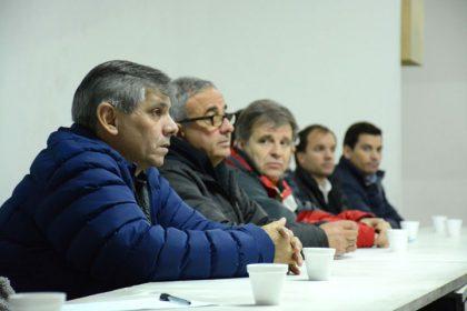 Reunión barrial en el Club Rivadavia