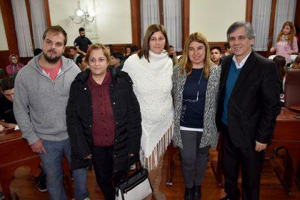 Se desarrolló la instancia distrital del Parlamento Juvenil del Mercosur