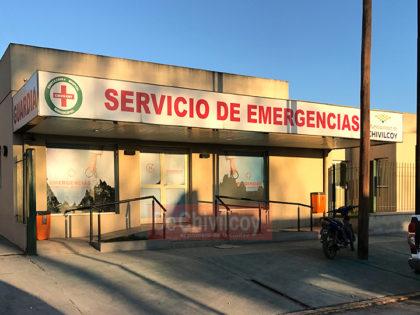 Un joven se encuentra en terapia intensiva tras caerse de su moto