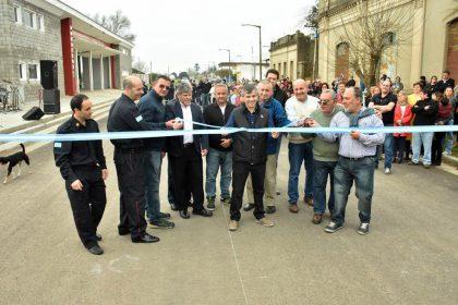 [Video] Fueron inauguradas ocho cuadras de asfalto en Moquehuá
