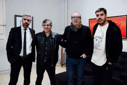 Se inauguró una muestra colectiva de los pintores Ibáñez y Mandirola en el Pompeo Boggio