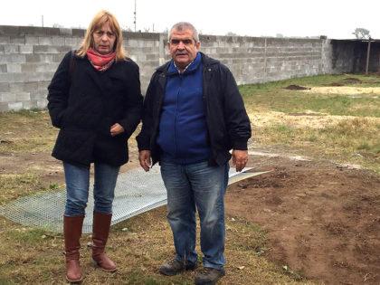 Varios concejales, junto al director de CAZMA, recorrieron los nuevos caniles