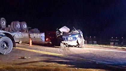 Cuatro muertos en la Ruta 8 a la altura de Pergamino