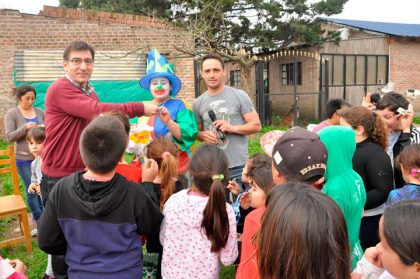 Festejo del Día del Niño en el Barrio San Bartolomé
