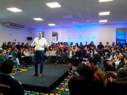 En Mar del Plata la JP Chivilcoy participó del Encuentro de Jóvenes con Randazzo