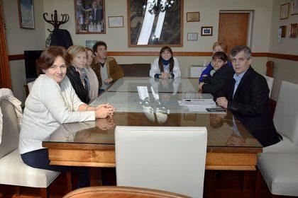 Reunión con la Unidad Académica de la Escuela Normal