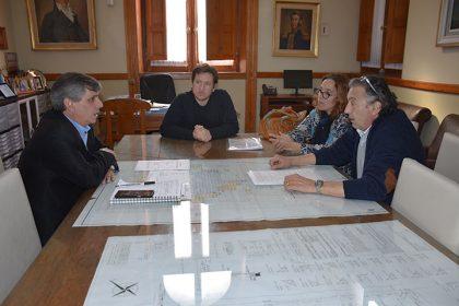 "Reunión con la Comisión de Fomento ""Avenida de Tomaso Chivilcoy"""