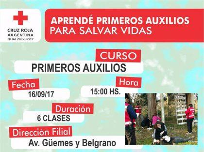 Cruz Roja Argentina Filial Chivilcoy:  Cursos Lengua de Señas y Primeros Auxilios