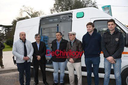 Se presentaron las nuevas ambulancias para el Hospital Municipal [Video]