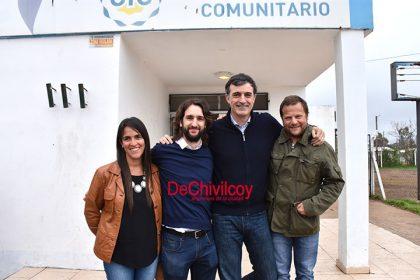 """Esteban Bullrich en Chivilcoy: """"El esfuerzo que hicimos todos los argentinos está dando sus frutos"""""""