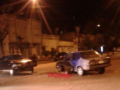 Fuerte colisión en avenida Suárez y Viamonte de la que participó una joven embarazada