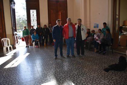 El intendente recibió al Vicecónsul de Bolivia