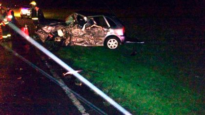 Esta madrugada: Dos muertos y varios lesionados en accidente de tránsito a la altura de La Rica