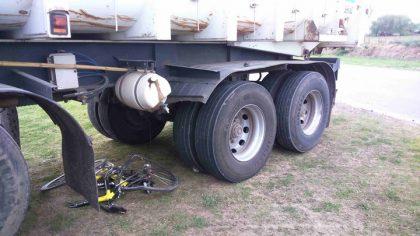 Accidente en Ruta 43 en el acceso a General Rivas